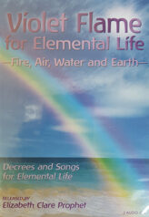 Violet Flame for Elemental Life Fire Air Water and Earth